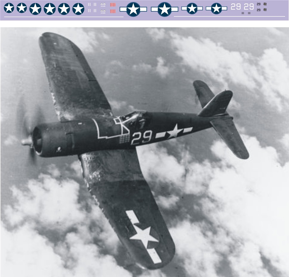 "Декаль Chance-Vought ""Corsair"" (F243) - 29 Image"