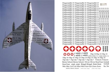 "Декаль Hawker ""Hunter"" FGA.9 (F204) Image"