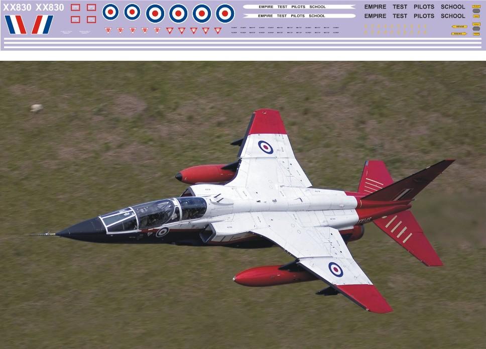 """Декаль SEPECAT """"Jaguar"""" T.2 (F402) Image"""