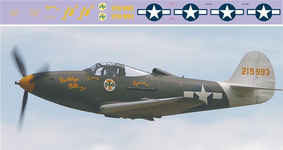 Декаль P-39Q Airacobra