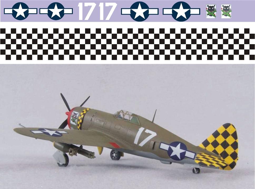 "Декаль Republic P-47D ""Thunderbolt"" (F183)-Eileen Image"