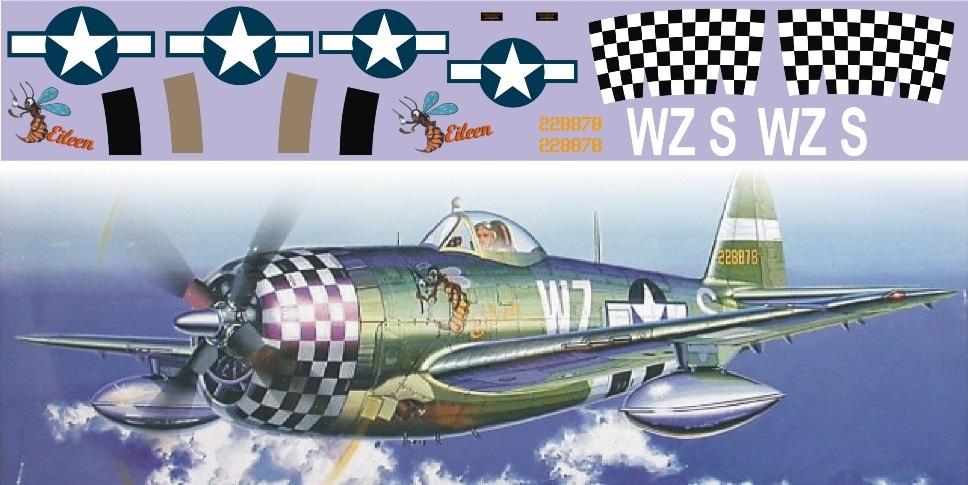 "Декаль P-47 Thunderbolt ""Eileen"""
