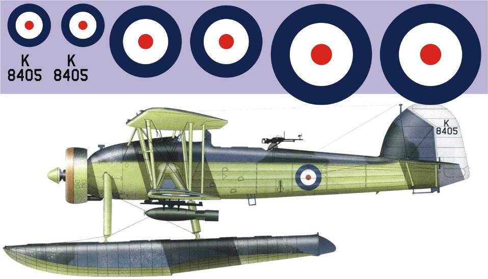 """Декаль Fairey """"Swordfish"""" K8405 Image"""