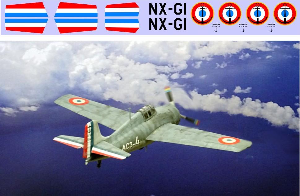 """Декаль Grumman G-36A """"Wildcat"""" Image"""