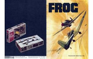 Catalogue FROG 1970. Page 1 and 20