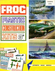 Catalogue FROG 1964. British issue. Page 1