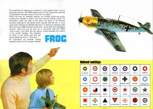 Catalogue FROG 1973. British Edition