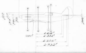 Dewoitine D.520 - оригинальные чертежи FROG