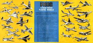 Catalogue FROG 1957. British issue. Side 2