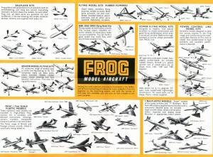 Catalogue FROG 1958. British issue. Side 2