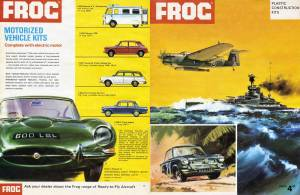 Catalogue FROG 1965. Page 1-12