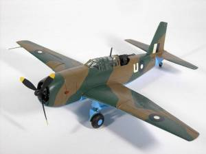 "Vultee ""Vengeance"" Mk.II,  AN828, RAF - автор М.Чизганов, фото С.Боровик"