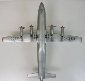 Ан-12, борт СССР-04363, Аэрофлот - автор модели В.Троицкий
