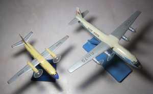 Ан-24 и Ан-10А - автор В.Троицкий