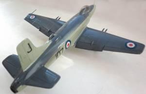 "Supermarine ""Attacker"" F.Mk.1, No.800 NAS FAA, HMS ""Eagle"", 1951 г. - автор Владимир (Redvostok)"