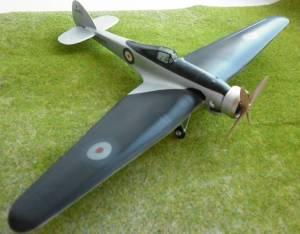 Bristol 138A, K4879, RAF, 1936 г. - автор Владимир (Redvostok)