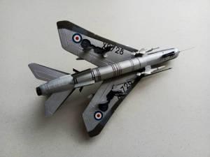 """BAC """"Lightning"""" F.Mk.6 - автор модели С.Васюткин"""