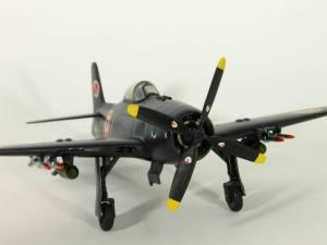 "Grumman F8F-2 ""Bearcat"" - автор модели М.Чизганов, фото С.Боровик"
