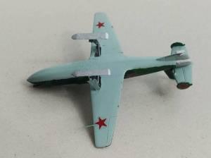 БИ (номер 3) - третий прототип, 1943 г. Автор модели - С.Васюткин