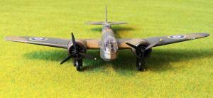 "Bristol ""Blenheim"" Mk.I, K7037, No.114 Squadron RAF, 1938 - автор модели С.Васюткин"