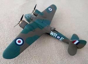 "Bristol ""Blenheim"" Mk.IF, WR-E\L1336, RAF"
