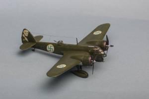 "Bristol ""Blenheim"" Mk.I, Ilmavoimat, BL-117 - автор модели А.Пировских"