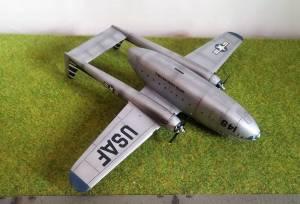"""Fairchild Packet C-119"" - автор модели С.Васюткин"