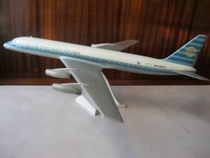 DC-8, KLM - автор модели В.Троицкий