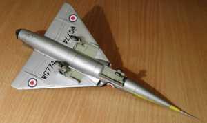 "Fairey ""Delta"" FD.2 - автор модели С.Васюткин"