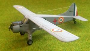 "De Havilland Canada L-20 ""Beaver"", Arme de l`Air, ELA-52, La Touraine Vietnam, 1951 - автор С.Васюткин, доработанная модель"