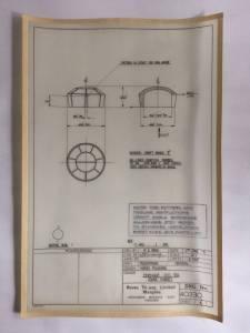 Dornier Do.24 (F403) - фото оригинального чертежа