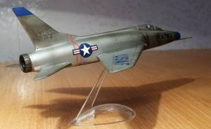 "North-American F-100 ""Super Sabre"" - автор С.Васюткин"