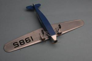 "Fokker F.VII ""Southern Cross"" - автор модели А.Пировских"