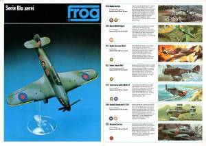 Catalogue FROG 1975. Italian Edition