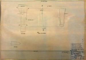"""FIAT G.55 """"Centauro"""" Serie l - фото оригинального чертежа"""
