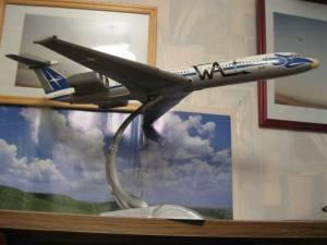 """Ил-62 """"Worona Air Lines"""" - автор модели В.Троицкий"""