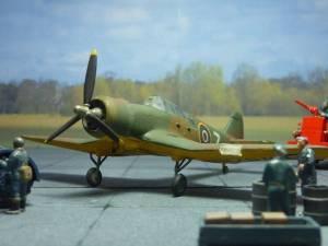 """Miles """"Master"""" Mk.III - диорама с аукциона eBay"""