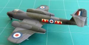 "Gloster ""Meteor"" F.8 - автор модели С.Васюткин"