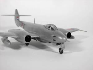 "Gloster ""Meteor"" F.4, Y9-8, ВВС Нидерландов - автор М.Чизганов, фото С.Боровик"