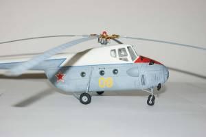 """Ми-4, борт """"09"""", СССР - доработанная модель ДФИ"""