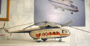 В-8 (СССР-10727) - автор модели В.Троицкий