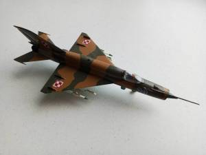 МиГ-21СМТ - автор модели С.Васюткин