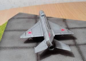 """""""MIG-21"""", борт 66, ВВС СССР - автор модели С.Васюткин, использована декаль от модели """"MiG-21 Fishbed"""" фирмы """"Tamiya"""""""