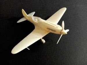 """""""MIG-3 One single fighter"""" - модель собранная """"из коробки"""" без окраски и доработок"""