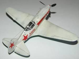 МиГ-3, ВВС РККА, зима 1941-1942 гг. Автор модели - Сергей Труфанов