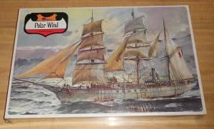 """""""Polar Wind"""" (144-800) - коробка экспортного издания от фирмы """"Minicraft Model Kits' для продажи на внутреннем рынке США, начало 1970-х гг."""
