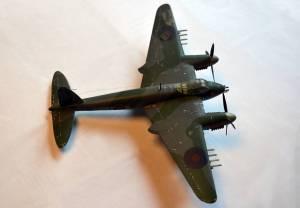 """De Havilland """"Mosquito"""" Mk.VI - автор модели Ltl (Scalemodels.ru)"""