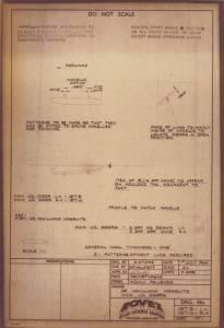 """De Havilland """"Mosquito"""" - сканированный лист"""
