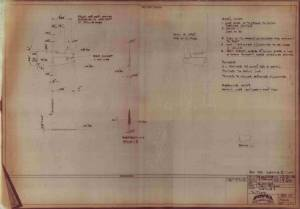 "North-American P-51A ""Mustang"" - фотокопия оригинального чертежа модели FROG"