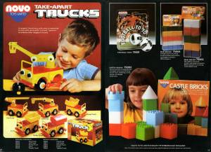 Каталог Novo Toys Limited 1980 года \ Catalogue Novo Toys Limited 1980